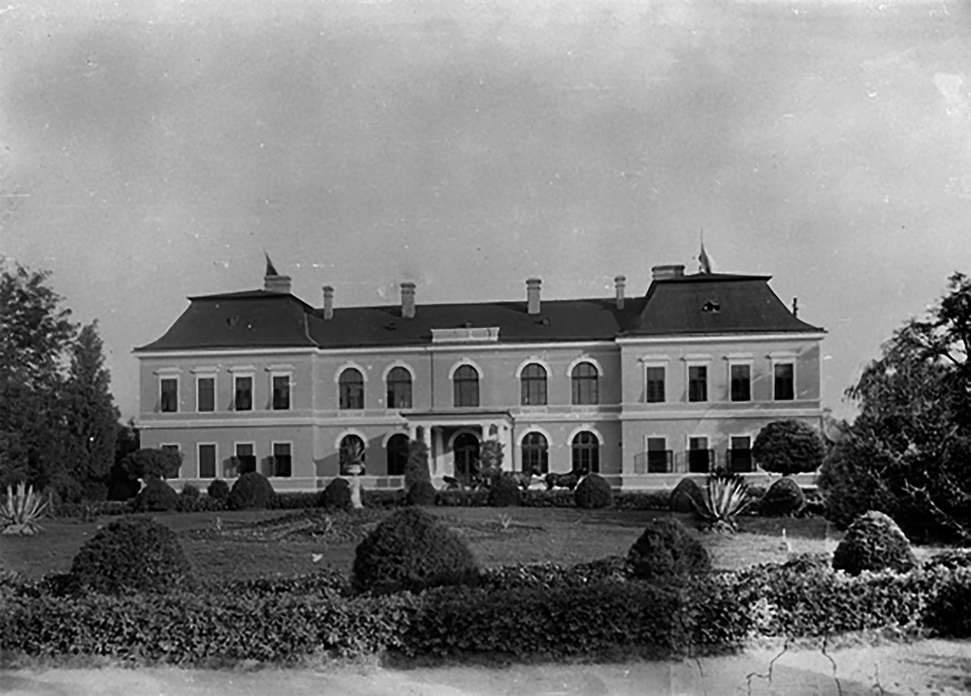Deszki kastély a századfordulón