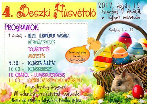 4. Deszki Húsvétoló a Tájházban
